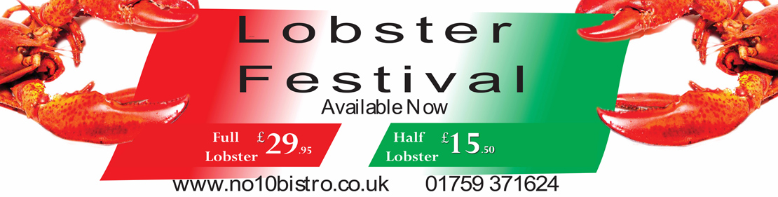 Lobster Festival Now Available
